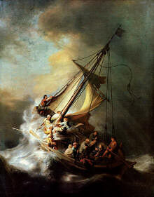 Jesus is with us in the storms of life