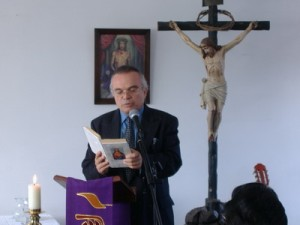 marino reading the Word of God